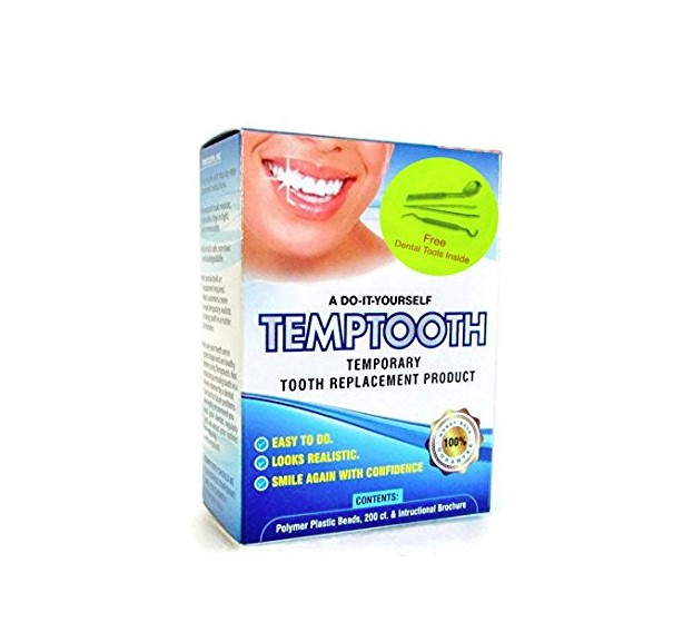 Temptooth #1 Seller Trusted Patented Temporary Tooth Replacement Product – with Free Dental Tools 1