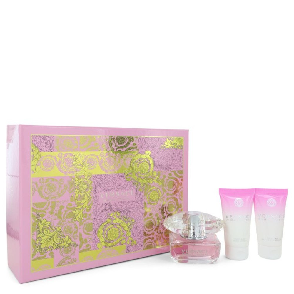 Bright Crystal By Versace Gift Set -- For Women #533226