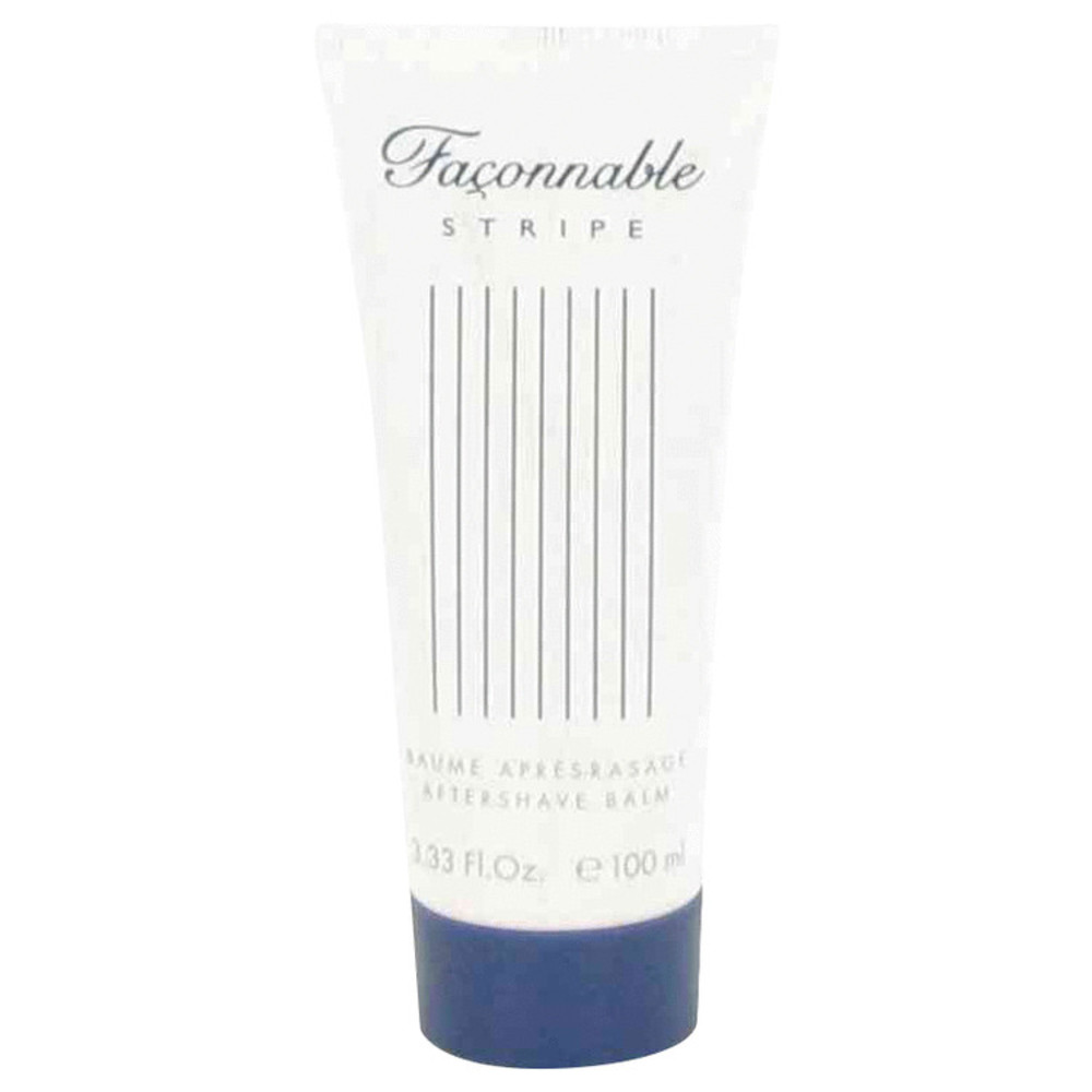 Faconnable Stripe By Faconnable After Shave Balm 3.4 Oz For Men #491466