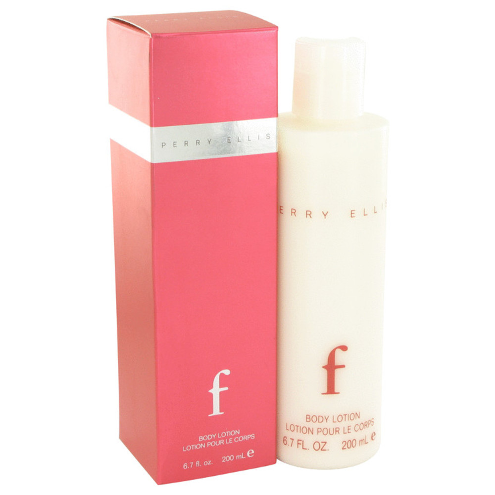 Perry Ellis F By Perry Ellis Body Lotion 6.7 Oz For Women #502490
