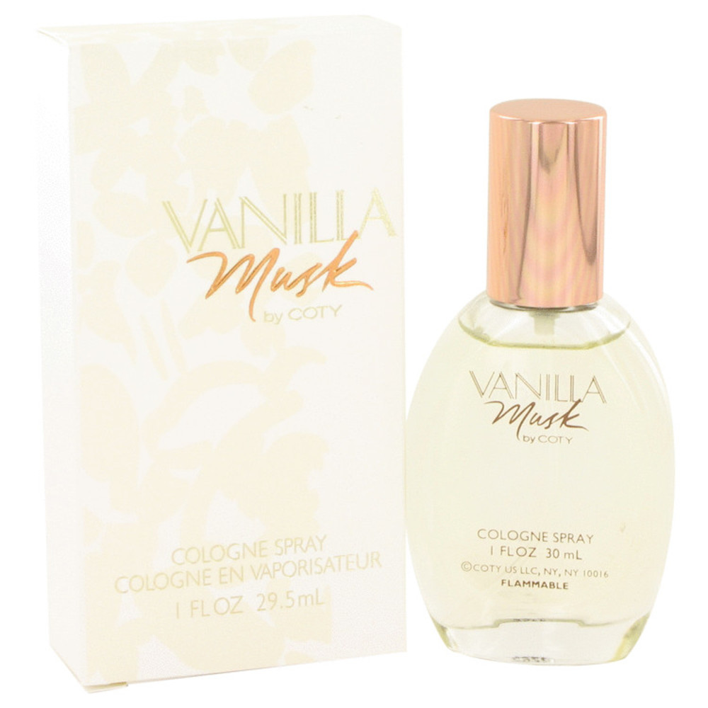 Vanilla Musk By Coty Cologne Spray 1 Oz For Women #455434