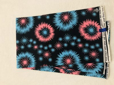African Wax 6 yards pink